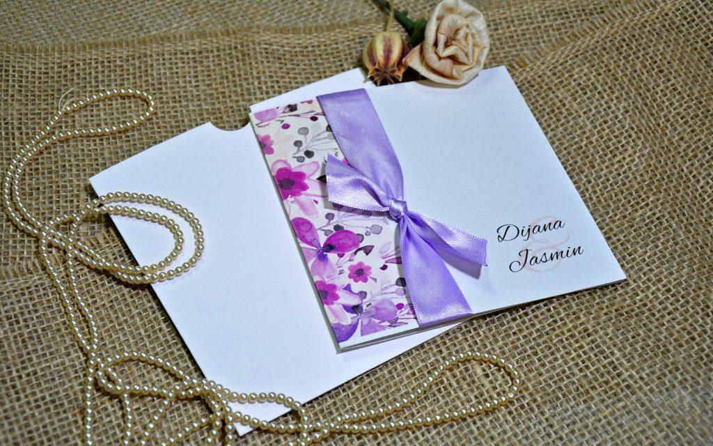 Pozivnica za vjenčanje 14×14 preklop