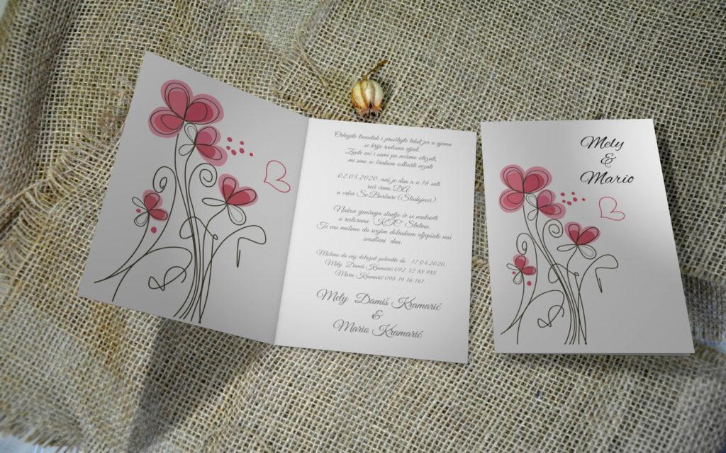 Pozivnica za vjenčanje PoM21