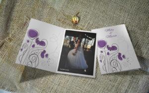 Zahvalnica za vjenčanje ZaM22