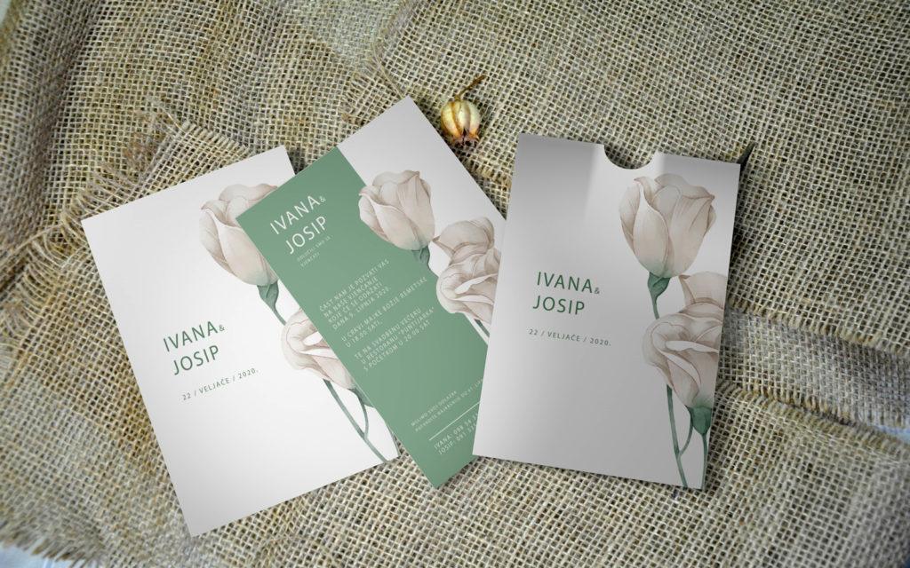 Pozivnica za vjenčanje PoM23