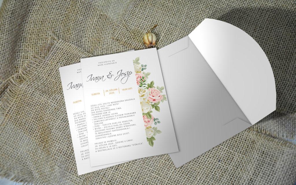 Pozivnica za vjenčanje PoM37