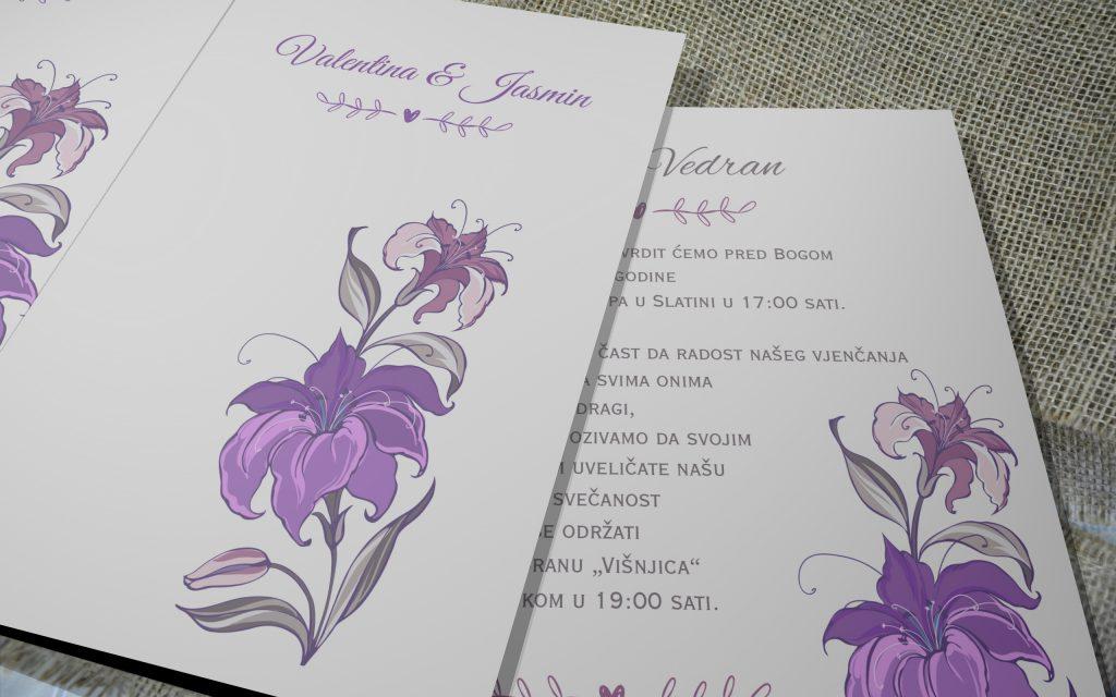 Pozivnica za vjenčanje 12×16 etui 01
