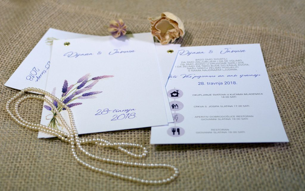 Pozivnica za vjenčanje 12×17 zakovica timeline