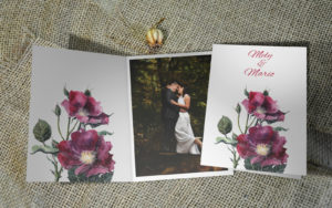 Zahvalnica za vjenčanje zaM27