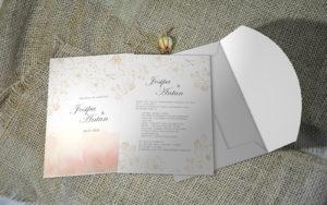 Pozivnica za vjenčanje PoM33