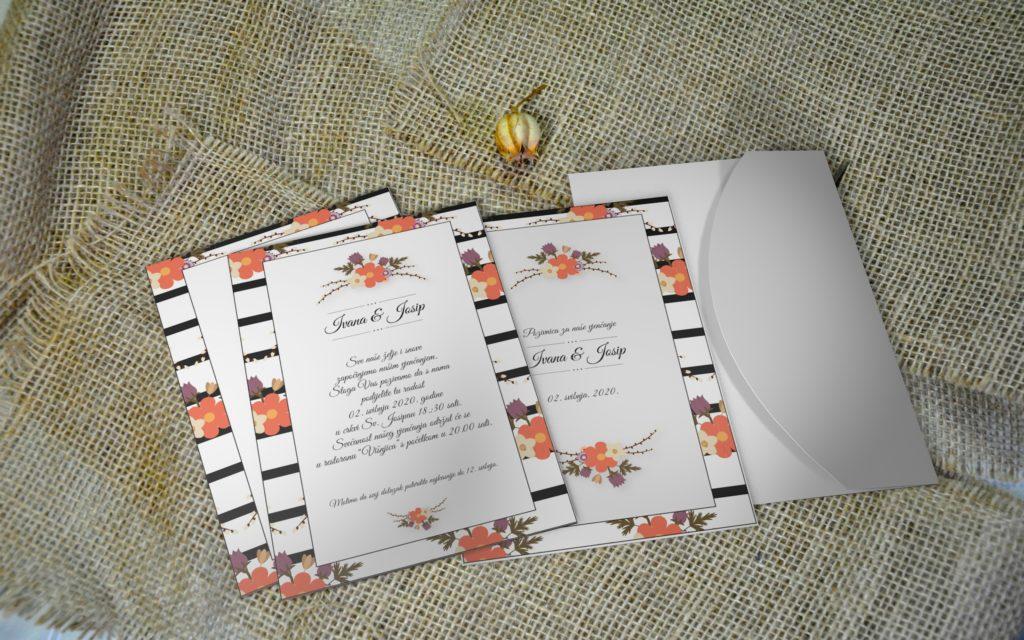 Pozivnica za vjenčanje PoM42