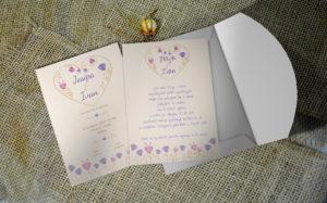 Pozivnica za vjenčanje PoM39